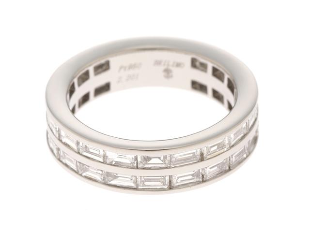 BRILIMO ブリリモ リング 指輪 プラチナ950 ダイヤモンド 10号 【474】【中古】【大黒屋】