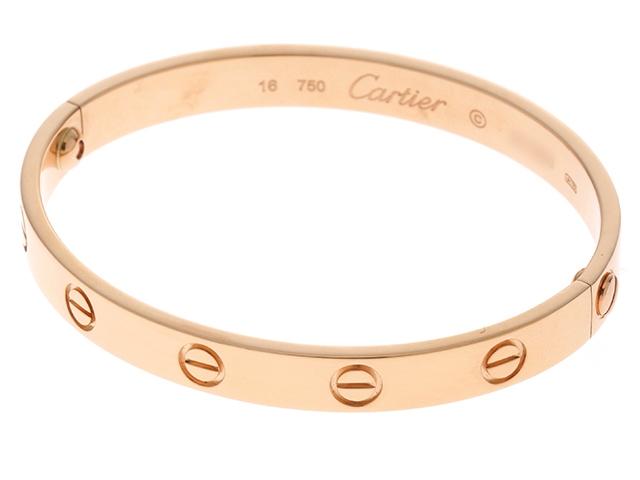 Cartier カルティエ ラブブレス 旧型 PG 28.6g #16 【436】【中古】【大黒屋】