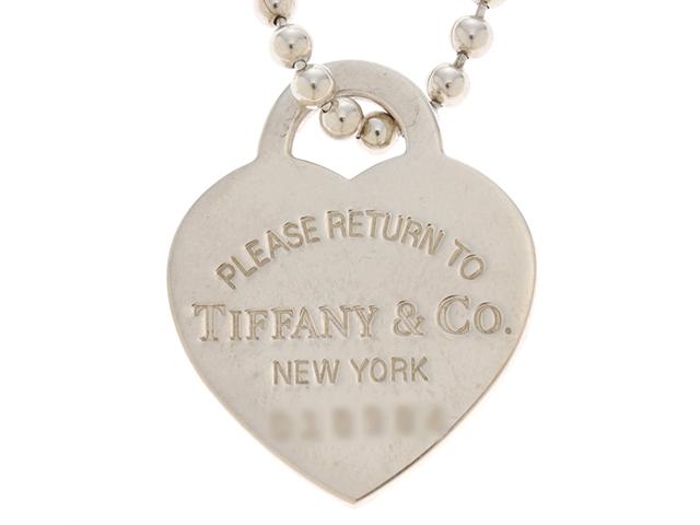 【送料無料】TIFFANY&CO ティファニー リターントゥハートタグネックレス シルバー 21g【472】YI【中古】【大黒屋】