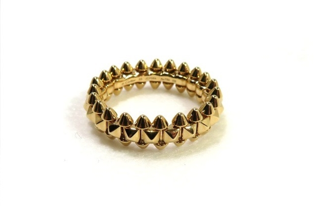 【送料無料】Cartier カルティエ 貴金属・宝石 指輪 リング クラッシュ ドゥ カルティエ SM K18PG ピンクゴールド 約8.8g #55 B4229800 CT【472】【中古】【大黒屋】