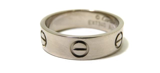 【送料無料】Cartier カルティエ 貴金属・宝石 指輪 リング ラブリング K18WG ホワイトゴールド 約6.5g #56 B4084700 CT【472】【】【大黒屋】