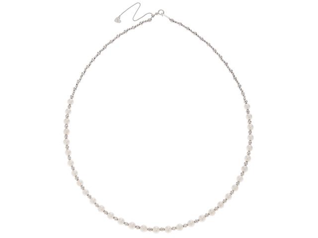 JEWELRY 貴金属・宝石 ネックレス ネックレス K18WG/P【472】KS【中古】【大黒屋】