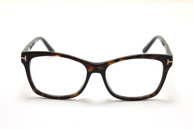 【送料無料】TOM FORD トムフォード サングラス  メガネフレーム ブラウン プラスチック【460】【中古】【大黒屋】
