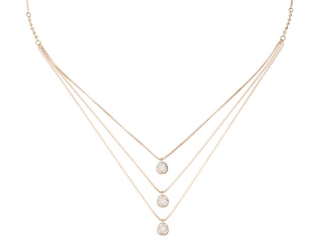 JEWELRY ノンブランドジュエリー ネックレス K18ピンクゴールド ダイヤモンド1.00 重さ4.1g【472】KR【中古】【大黒屋】