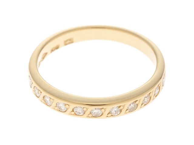セイコージュエリー リング 指輪 K18YG イエローゴールド ダイヤモンド 8号 【474】【中古】【大黒屋】