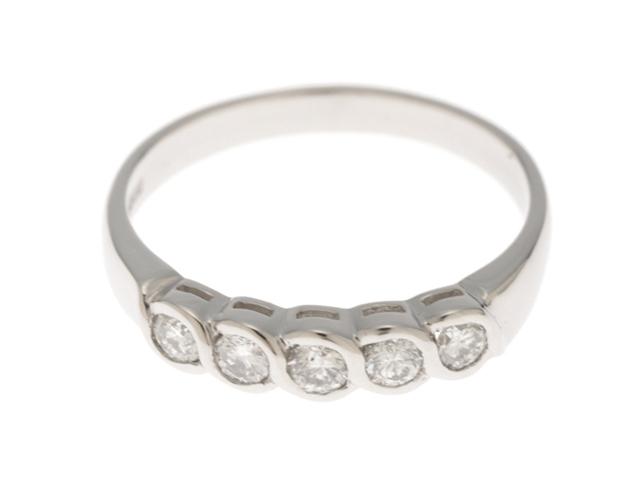 【送料無料】JEWELRY ノンブランドジュエリー リング 指輪 PT900 プラチナ ダイヤモンド 0.301ct 12号 【460】【中古】【大黒屋】