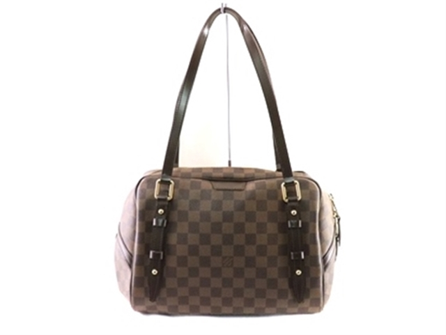 LOUIS VUITTON ルイヴィトン バッグ リヴィントンGM ショルダーバッグ リヴィントンGM ダミエ N41158【471】【中古】【大黒屋】