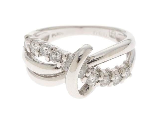 JEWELRY ノンブランドジュエリー リング 指輪 プラチナ900 ダイヤモンド0.50ct 11.5号 6.8g 【473】【中古】【大黒屋】