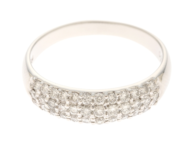 JEWELRY ノーブランドジュエリー リング 指輪 プラチナ900 ダイヤモンド 13.5号 【474】【中古】【大黒屋】