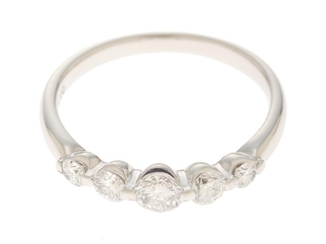 【送料無料】JEWELRY ノンブランドジュエリー リング 指輪 PT900 プラチナ ダイヤモンド 0.51ct 10号 【460】【中古】【大黒屋】