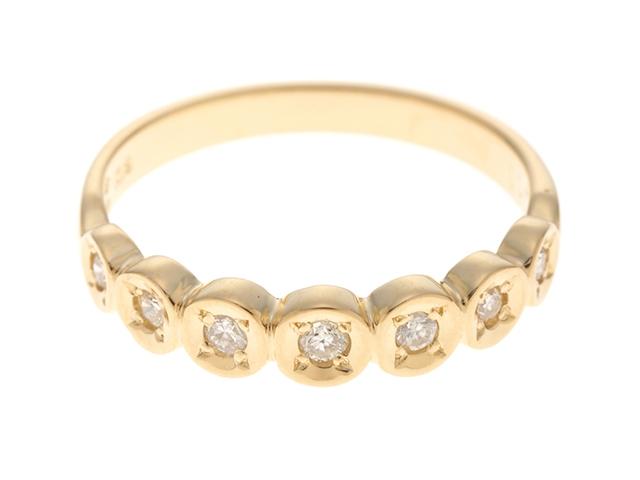 JEWELRY ノンブランド ダイヤモンド リング K18/D0.11/2.0g/#8【435】【中古】【大黒屋】
