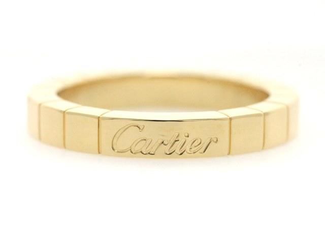 【送料無料】Cartier カルティエ 貴金属 リング ラニエールリング K18イエローゴールド 5.5g 49号【473】【中古】【大黒屋】