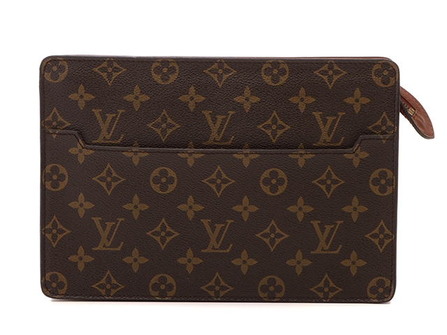 LOUIS VUITTON ルイヴィトン モノグラム ポシェット・オム M51795 1988年頃製造品 made in France クラッチバッグ セカンドバッグ メンズ バック【204】【中古】【大黒屋】