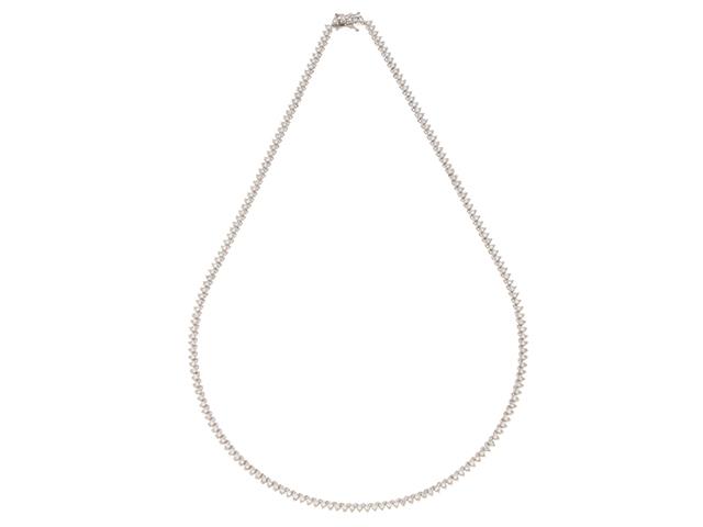 JEWELRY ノンブランドジュエリー PT900 プラチナ ダイヤモンド ネックレス 【430】【中古】【大黒屋】