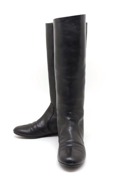 Giuseppe Zanotti ジュゼッペザノッティ ブーツ ロングブーツ レディース38ハーフ 約25.5cm ブラック 黒 カーフ【200】【中古】【大黒屋】