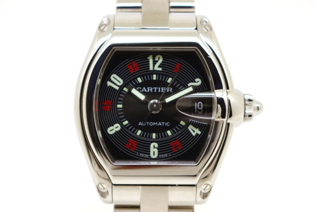 wholesale dealer a3932 7e209 W62002V3 ロードスターLM 時計 カルティエ 【送料無料】Cartier ...