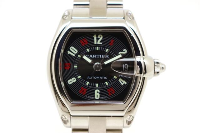 wholesale dealer 16020 28b60 W62002V3 ロードスターLM 時計 カルティエ 【送料無料】Cartier ...