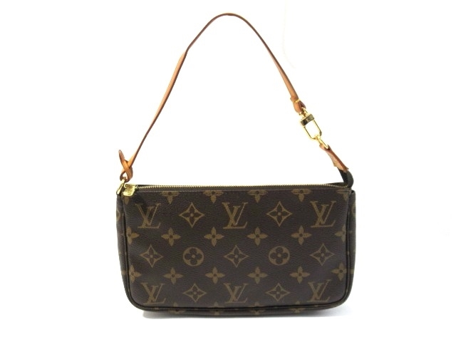 official photos 0f873 98bef LOUIS VUITTON ルイヴィトン バッグ アクセサリーポーチ ポーチ(取っ手あり) モノグラム M51980【413】【中古】【大黒屋】|質屋  大黒屋