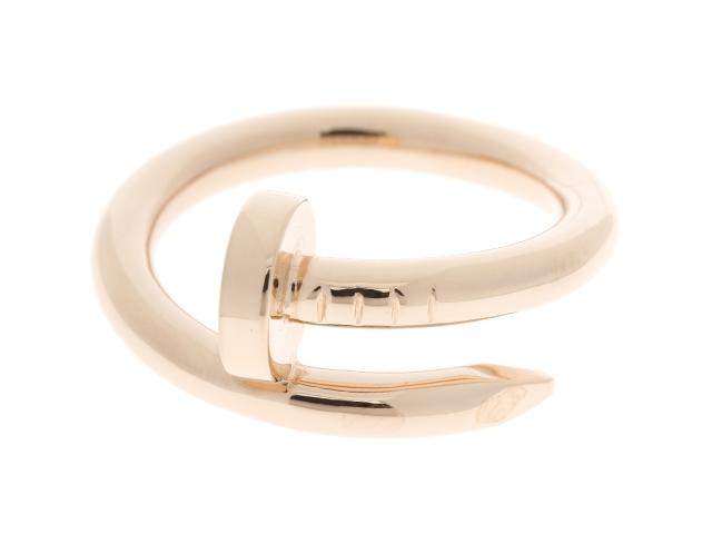[送料無料]Cartier カルティエ ジュストンアンクル リング 指輪 K18PG ピンクゴールド 52号 【474】【中古】【大黒屋】