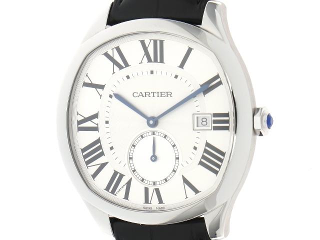 超美品 【送料無料】Cartier カルティエ ドライブドゥカルティエ WSNM0004 ステンレス/革 シルバー文字盤 オートマチック【204】【】【大黒屋】, ウラホロチョウ:948d180e --- baecker-innung-westfalen-sued.de