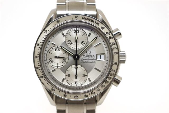 OMEGAオメガ時計スピードマスターデイト3513.30ステンレスオートマチックメンズ【200】