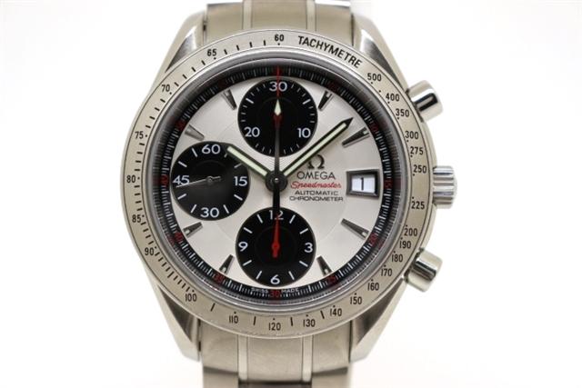 [送料無料]OMEGA オメガ 時計 スピードマスターデイト 3211.31 ステンレス オートマチック メンズ 【200】【中古】【大黒屋】