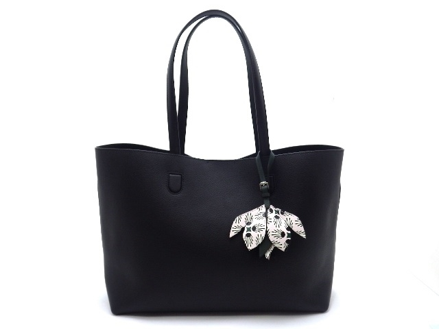 [送料無料]Dior ブロッサムトートバッグ レザー 黒【430】【中古】【大黒屋】