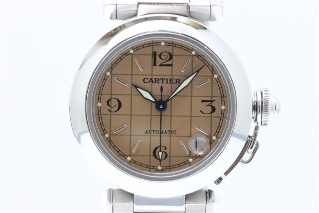 「送料無料」Cartier カルティエ SS パシャC 自動巻 【412】【中古】【大黒屋】