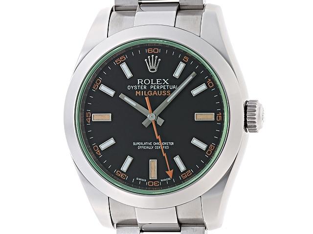 【送料無料】ROLEX ロレックス 時計 ミルガウス 116400GV ランダム番 ステンレス オートマチック メンズ 【200】【中古】【大黒屋】