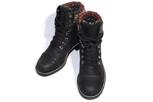 [送料無料]CHANEL シャネル ブーツ レディース 36 約23cm ブラック レザー ココマーク G31056Y15915【200】【中古】【大黒屋】