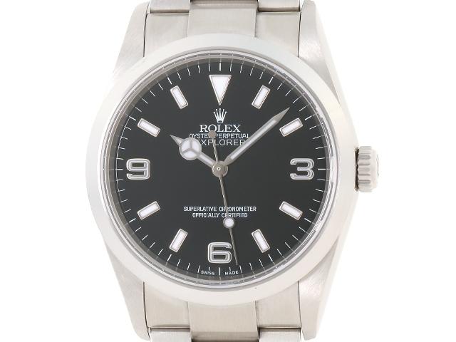 【送料無料】ROLEX ロレックス 時計 エクスプローラーI 114270 Z番 ステンレス オートマチック メンズ 【200】【中古】【大黒屋】