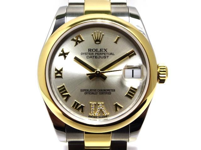 【送料無料】ROLEX 時計 デイトジャスト178243 オートマチック ボーイズサイズ イエローゴールド/ステンレス【430】【中古】【大黒屋】