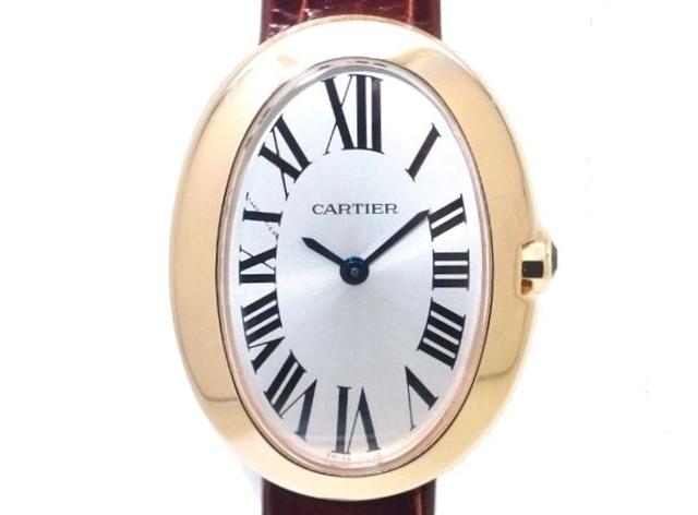 best cheap bc88d f1591 送料無料】Cartier PG×革【205】【中古】【大黒屋】 W8000007 ...