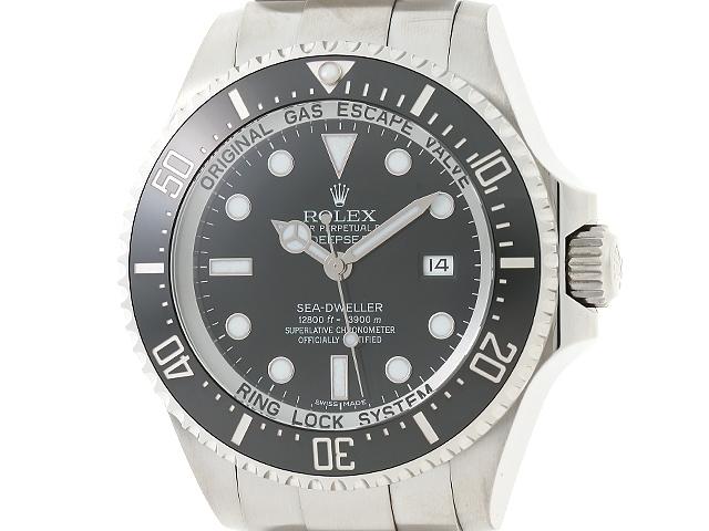 【送料無料】ROLEX 時計 ロレックス 116660 ランダム番 メンズ時計 シードゥエラーディープシー 自動巻き 黒文字盤【434】【中古】【大黒屋】