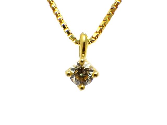 TASAKI タサキ K18 ダイヤモンド ネックレス 【430】【中古】【大黒屋】