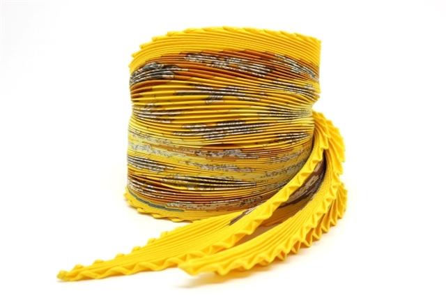 HERMES エルメス 衣料品 スカーフ プリーツ カレ FEUX DE L'HIVER 冬の火 シルク 結晶柄 【200】【中古】【大黒屋】