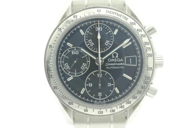 【送料無料】OMEGA メンズ腕時計 スピードマスター デイト 3513.50 ステンレス ブラック文字盤 自動巻き【450】【中古】【大黒屋】
