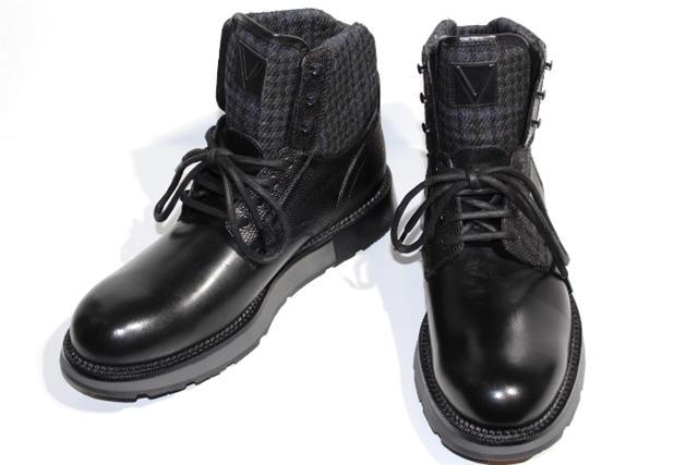 【送料無料】LOUIS VUITTON ルイヴィトン ブーツ ブーツスニーカー メンズ9 約28cm ブラック 黒 レザー【200】【中古】【大黒屋】