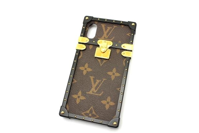 【送料無料】LOUIS VUITTON ルイ・ヴィトン アイトランクIPHONE X/XS モノグラム M62618 【460】【中古】【大黒屋】