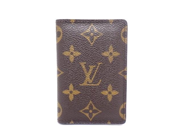 LOUIS VUITTON ルイ・ヴィトン モノグラム オーガナイザードウポッシュ M61732 カードケース パスケース 【437】【中古】【大黒屋】