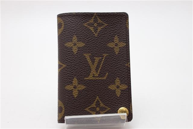 LOUIS VUITTON 小物 ケース カードケース クレディプレッシオン モノグラム 【412】【中古】【大黒屋】