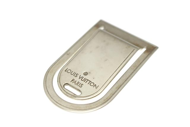 ルイ・ヴィトン マネークリップ 真鍮 M64691 【412】【中古】【大黒屋】