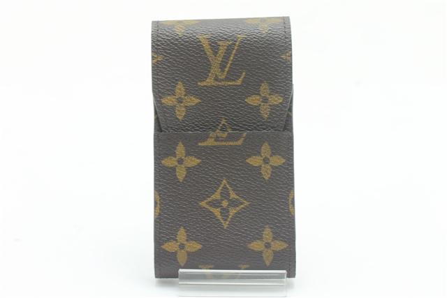 LOUISVUITTON ルイ・ヴィトン 小物 シガレットケース たばこケース M63024 モノグラム 【450】【中古】【大黒屋】