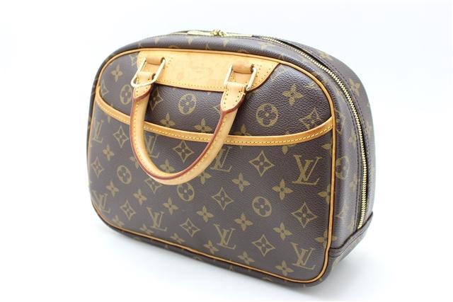 LOUIS VUITTON ルイ・ヴィトン モノグラム 可愛いハンドバッグ トゥルーヴィル M42228 【412】【中古】【大黒屋】