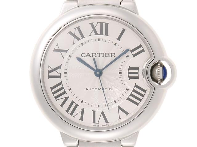 【送料無料】Cartier カルティエ バロンブルー MM オートマチック SS ボーイズ【435】【中古】【大黒屋】
