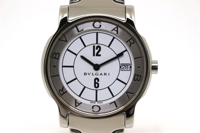 今季一番 [送料無料]BVLGARI ブルガリ 時計 ソロテンポ ST35S ステンレス クオーツ メンズ 【200】【】【大黒屋】, 腕時計のセレクトショップ HATTEN 6add6213