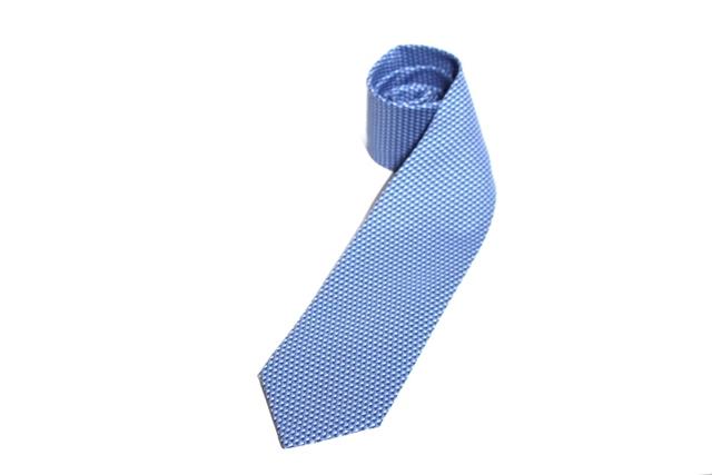 HERMES エルメス 衣料品 ネクタイ シルク ミズイロ メンズ ビジネス 【200】【中古】【大黒屋】
