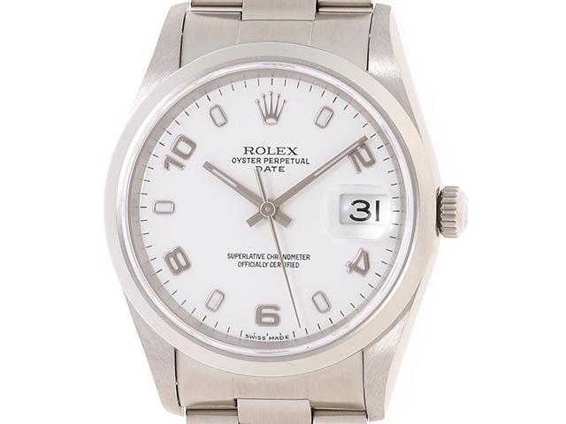 【送料無料】ROLEX ロレックス 時計 パーペチュアル デイト オートマチック 【435】【中古】【大黒屋】