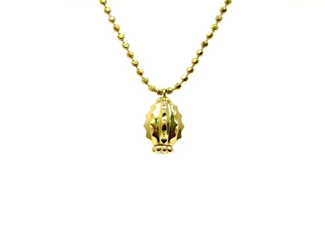 【送料無料】Cartier カルティエ YG ダイヤモンド カクテュス ドゥ カルティエ ネックレス 【430】【中古】【大黒屋】
