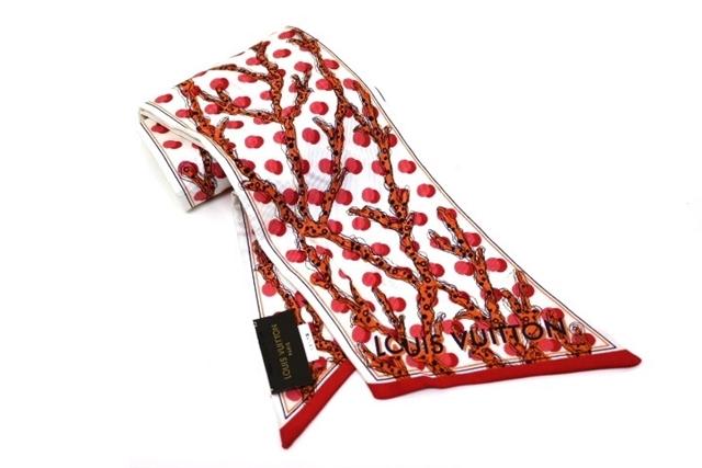 LOUIS VUITTON ルイヴィトン スカーフ 衣料品 スカーフ バンドー LOUIS バンドー モノグラムラマージュ シルク ホワイト レッド オレンジ【200】【中古】【大黒屋】, Aina Tシャツ メンズ リュック:730b517d --- officewill.xsrv.jp